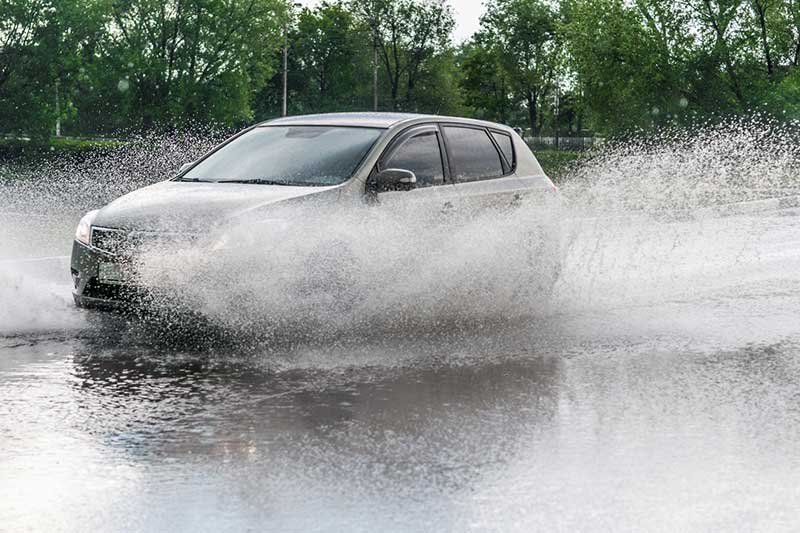 Drivers could be fined £5,000 for splashing a pedestrian.