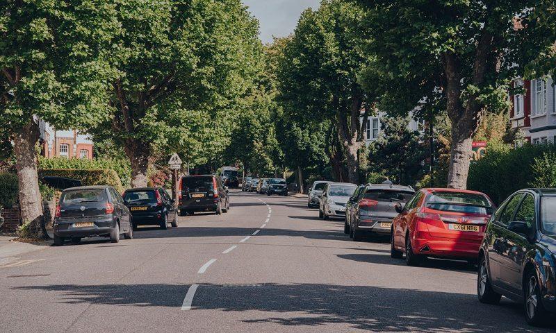 Residential London neighbourhood