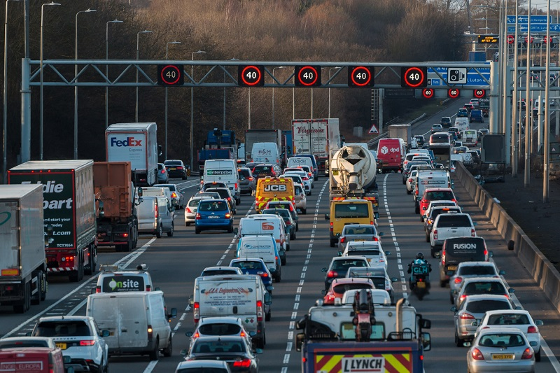 M1 smart motorway