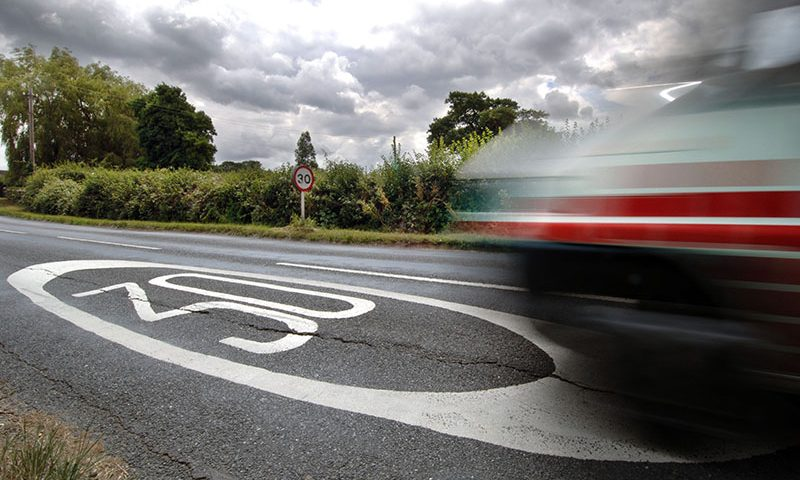 Speeding offences increase despite fewer cars on road