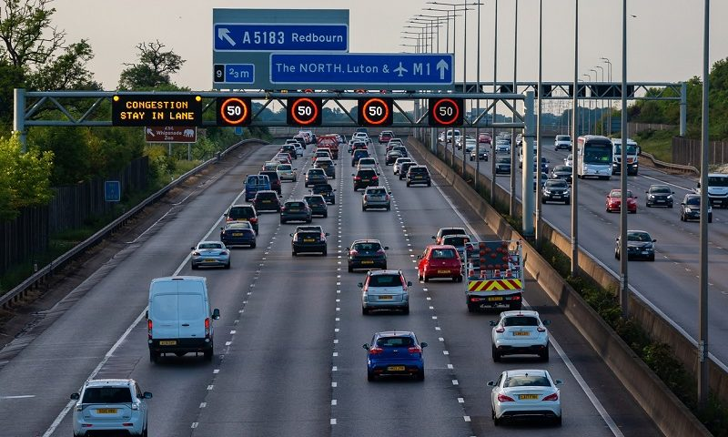 New camera charge to catch people driving in the 'X' lane